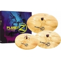 "Zildjian Planet Z Cymbal Pack Z4 - 14"" Hi-Hats, 16"" Crash & 20"" Ride"